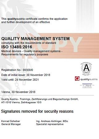 Сертифiкат ISO13485:2016